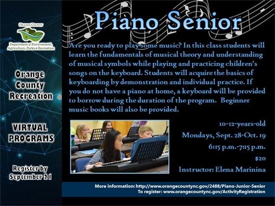 Piano Senior