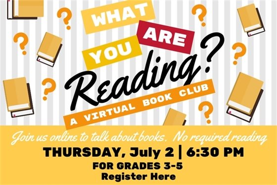 Virtual Book Club graphic