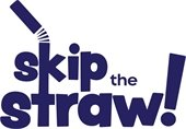 Skip the straw logo