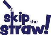 Skip the straw logo