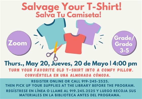 Salvage your T-Shirt graphic