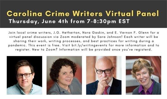 Crime writers panel