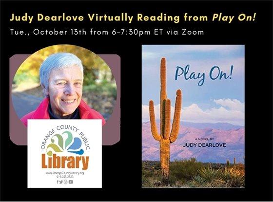 Virtual reading by Judy Dearlove