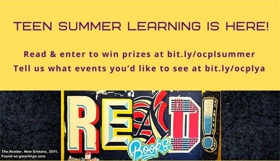 Teens enjoy summer learning too!