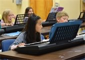 Students in Piano Lessons