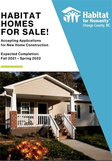 Habitat Homes for sale
