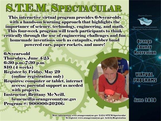 STEM Spectacular June 2020