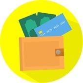 Wallet - Cash - Credit Card