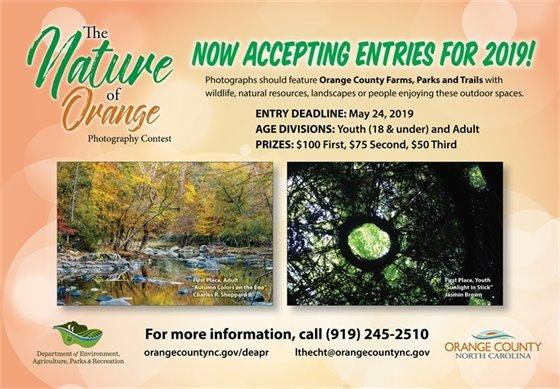 Nature of Orange Photography Contest ad