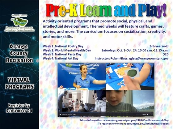 Pre-K Learn and Play