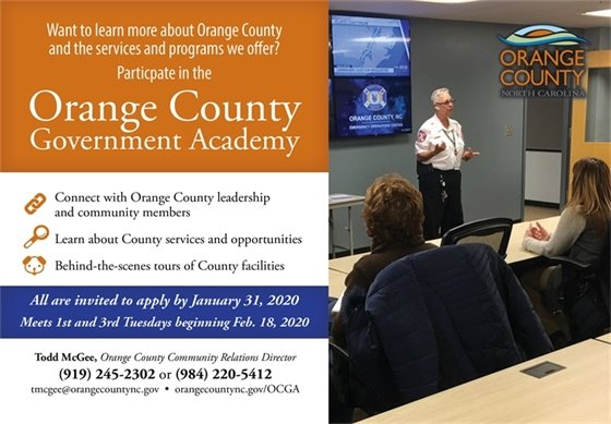 County Government Academy graphic
