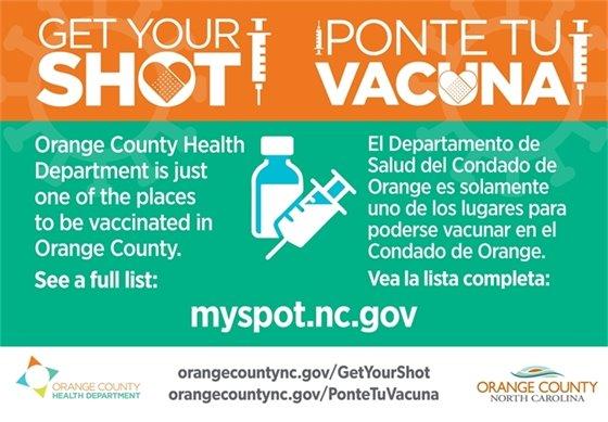 Get Your Shot - myspot.nc.gov