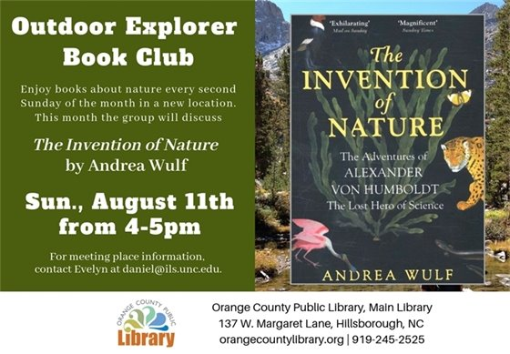 Outdoor Explorer Book Club