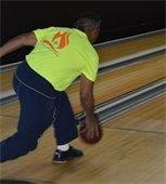 Bowling at Senior Games