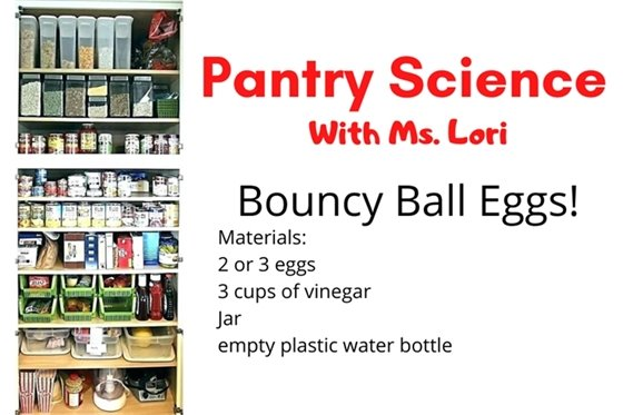 There's a new pantry science episode.
