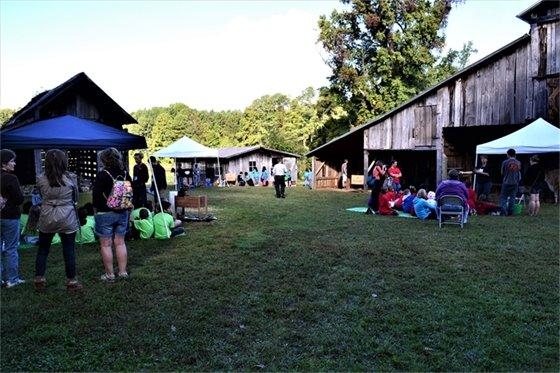 Photo of Farm to Table event at Blackwood Farm Park