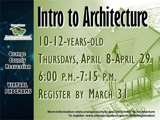 Intro to Architecture - ages 10-12-years-old