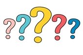 colorful array of question marks