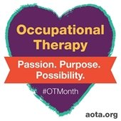 Celebrate OT Month - 2021 Logo