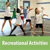 Recreational activities graphic