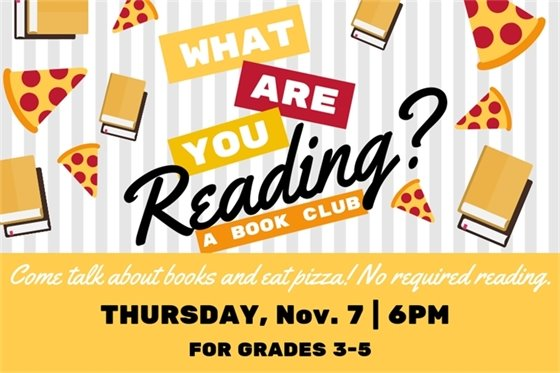 What are you reading book club info