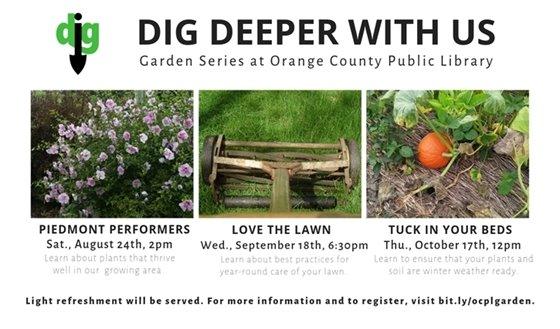 Gardening series slide -- images of gardening