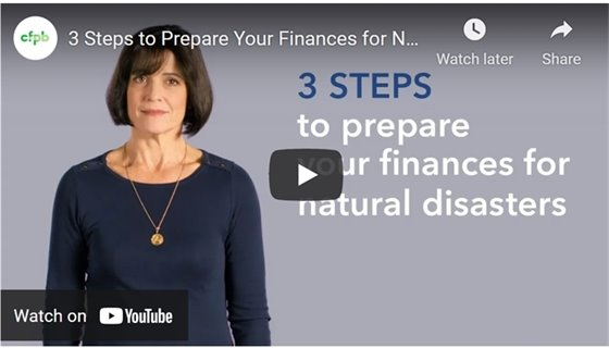 3 steps to prepare your finances for natural disasters