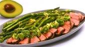 AvocadoChimichurri-Steak-with-Grilled-Asparagus