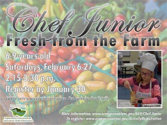 Chef Junior program graphic