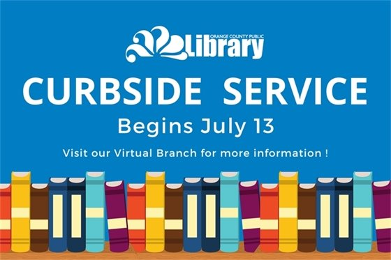 Library Curbside Service Graphic