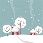 Wintry House - Warmth