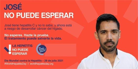 Jose tiene hepatitis C y no lo sabe, y ahora esta a riesgo de desarrolar cancer del higado.