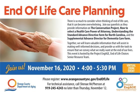 End of Life Care Planning graphic