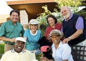 Photo of group of seniors
