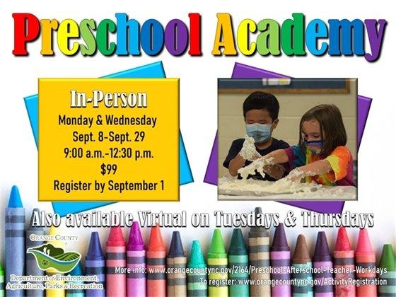 Preschool Academy In-Person