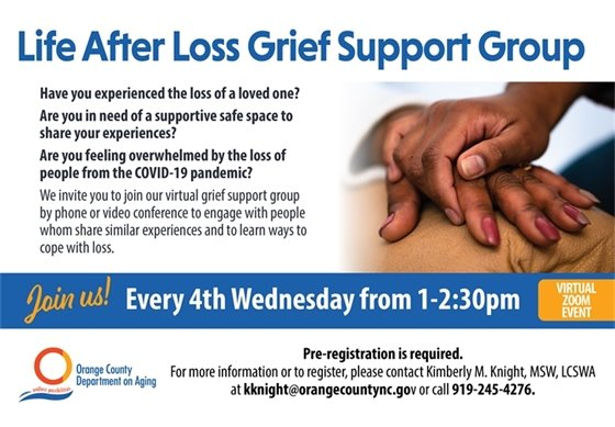 Life After Loss Grief Support Group