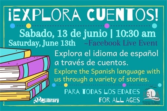join us to learn about the Spanish language