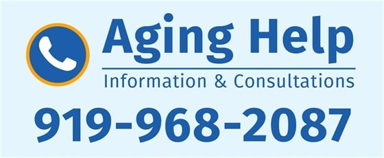 Aging Help, information & consultations: 919-968-2087