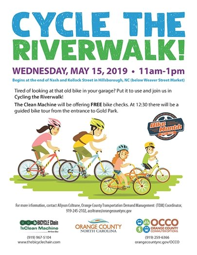 cycle the riverwalk