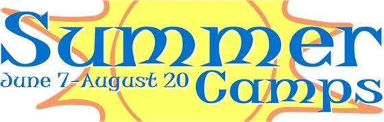 Summer camp header banner