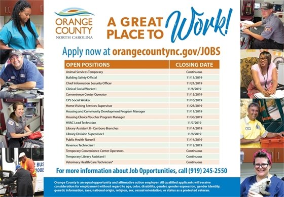 Orange County jobs graphic