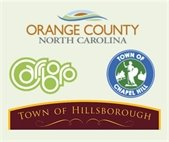 Graphic of town and county logos