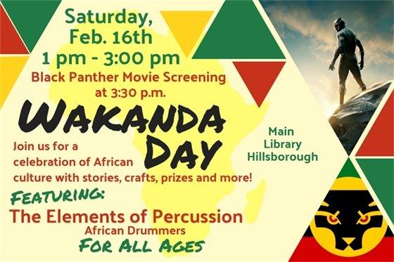 Wakanda Day graphic