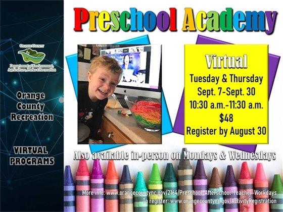 Preschool Academy Virtual