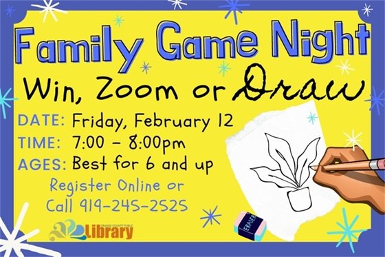 Win, Zoom, or Draw. A family game based on Pictionary