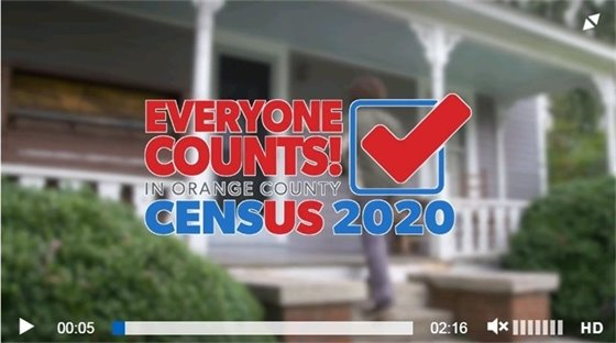 Video snip from Census video