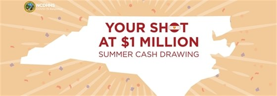 your shot at $1 million, summer cash drawing