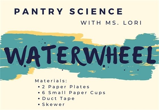 Click on image to go to our YouTube channel for Ms. Lori's Pantry Science
