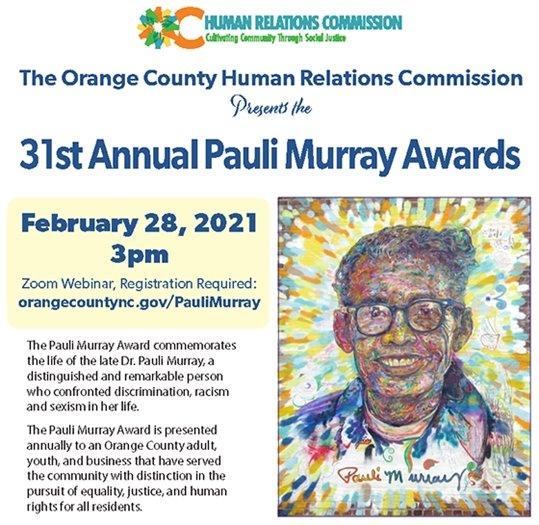 Pauli Murray Awards