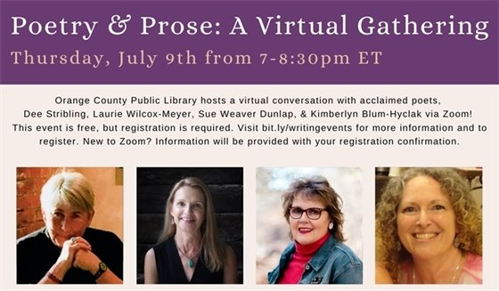 Poetry and Prose: A Virtual Gathering
